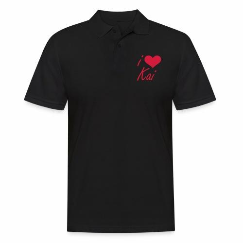 I love Kai - Männer Poloshirt