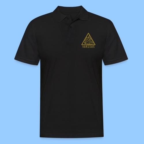 VariousExplosions Triangle (1colour) - Men's Polo Shirt