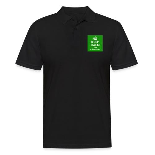 Keep Calm and Get The Chicken Sarni - Green - Men's Polo Shirt