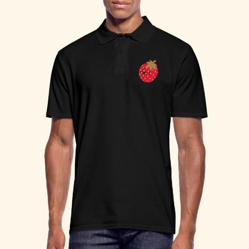 Erdbeere - Männer Poloshirt