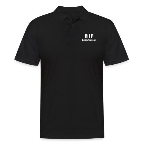 RIP Rest in Peperonis - Männer Poloshirt