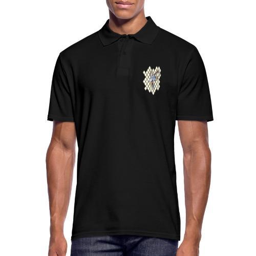 blauer bock - Männer Poloshirt