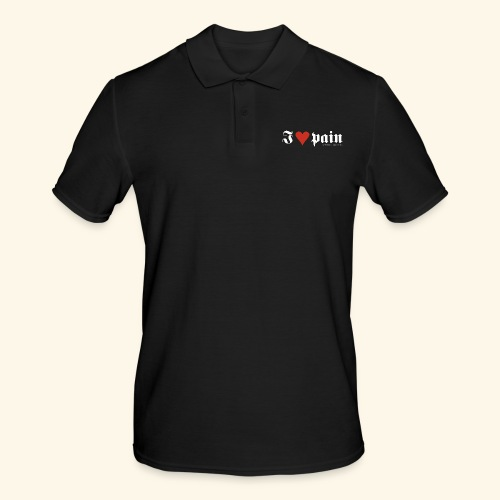 I <3 pain - Männer Poloshirt