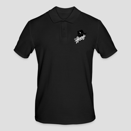 daeHoot_Shirt_Logo2_2c - Männer Poloshirt