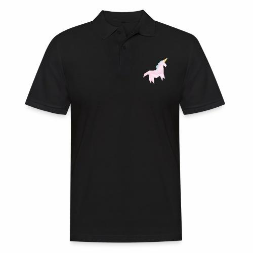licorne géométrique - Polo Homme