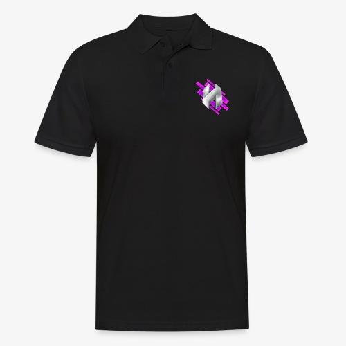 Abstract Purple - Men's Polo Shirt