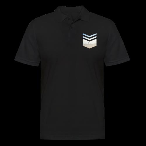Surf Beach Triangle - Männer Poloshirt