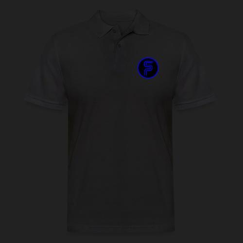 Saberproject Kreis Logo schwarz - Männer Poloshirt