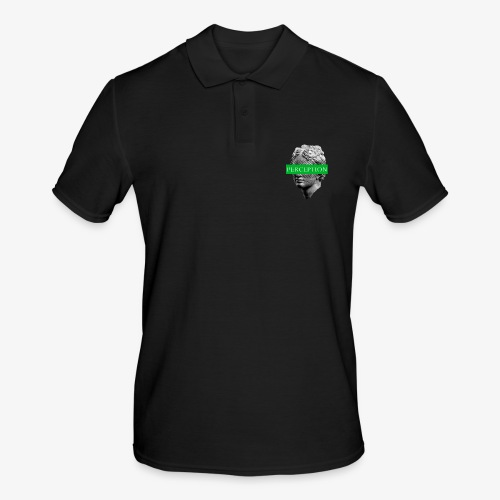 TETE GRECQ GREEN - PERCEPTION CLOTHING - Polo Homme