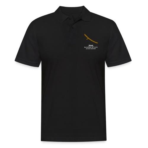 Stock Bumerang - Männer Poloshirt
