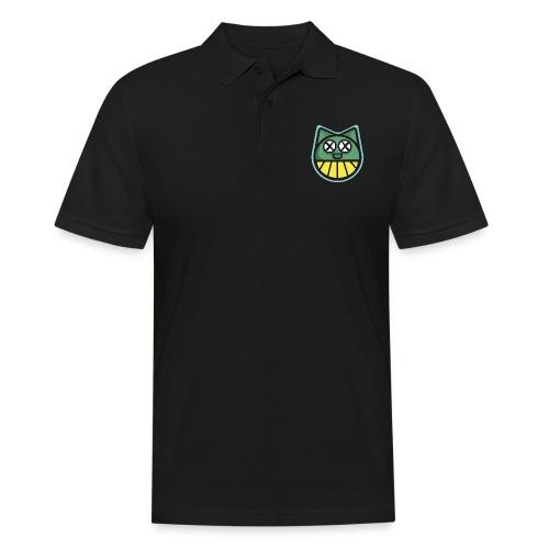 ZOMBIE CAT PRINT HOODIE - Men's Polo Shirt