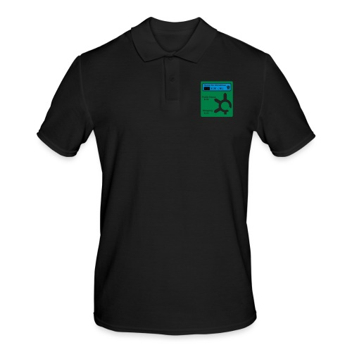 HOME_FOR_CHRISTMAS_SIGN - Men's Polo Shirt