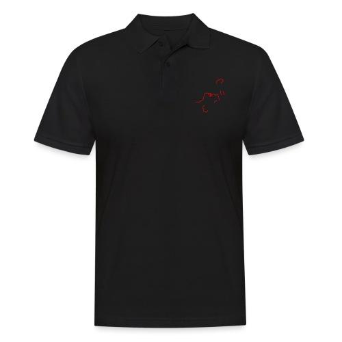 'I am here' (pocket) - Men's Polo Shirt