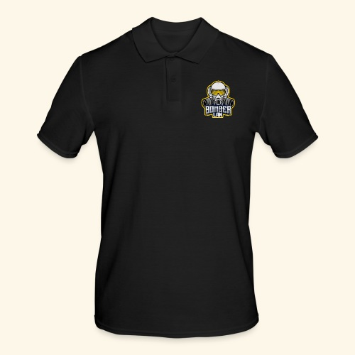 BOMBER LAN Logo - Männer Poloshirt