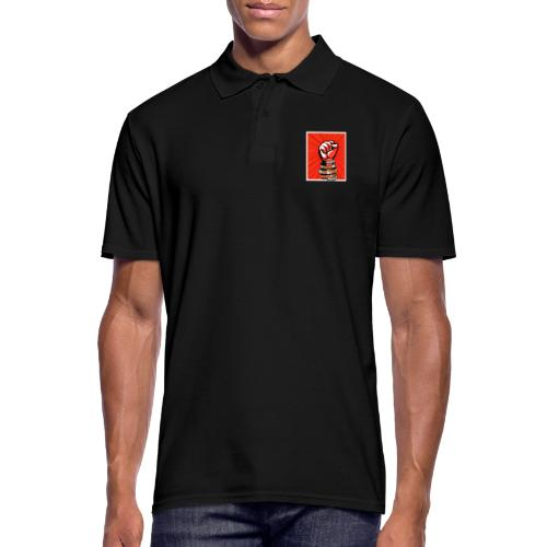 Power to the people - with peace and love protest - Men's Polo Shirt