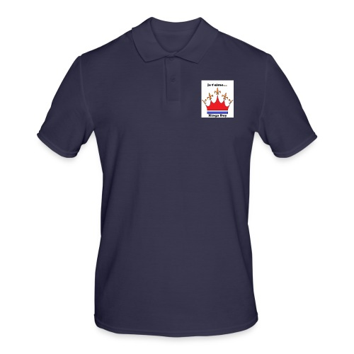 Je taime Kings Day (Je suis...) - Mannen poloshirt