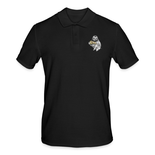 Slot Eating Pizza - Men's Polo Shirt