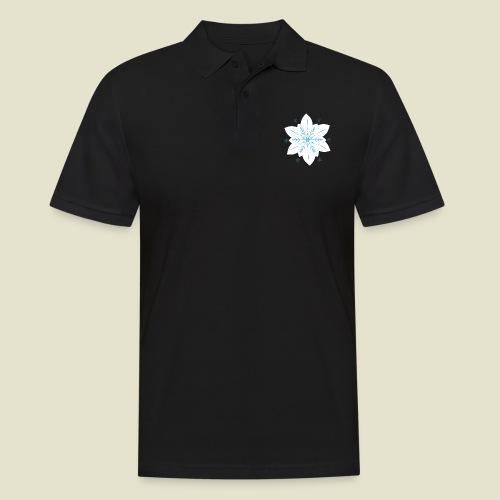 Snowflake - Männer Poloshirt
