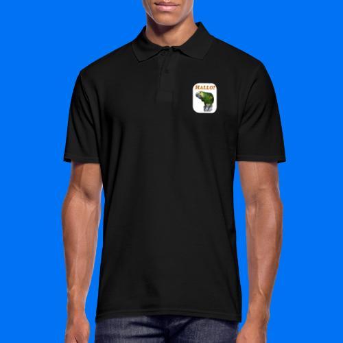 Hallo Papagei - Männer Poloshirt