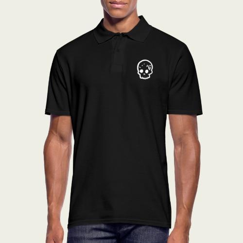 Skull logo whi - Polo hombre