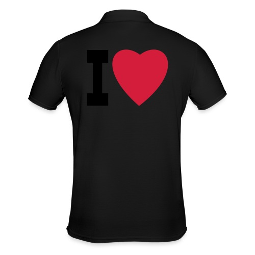 create your own I LOVE clothing and stuff - Men's Polo Shirt