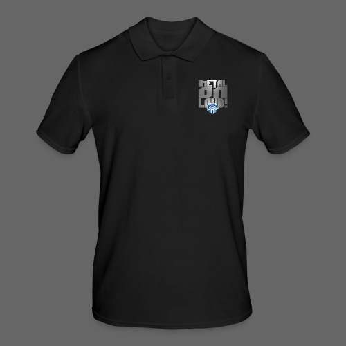 metalonloud large 4k png - Men's Polo Shirt