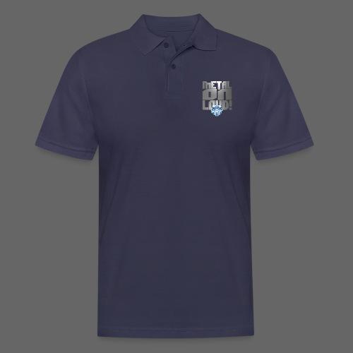 metalonloud large 4k png - Men's Polo Shirt