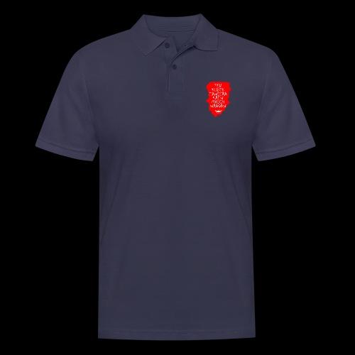 Krwisty kubek - Koszulka polo męska