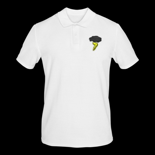 Blitzschlag - Männer Poloshirt