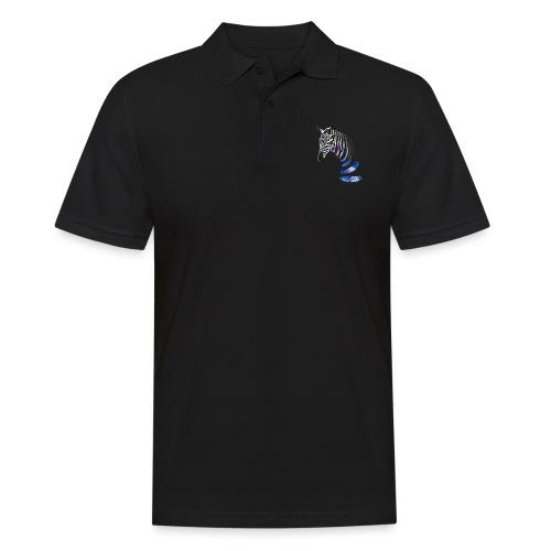 Vibrant Zebra - Men's Polo Shirt