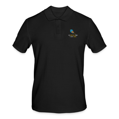 The early bird needs a lot of COFFEE v1 - Männer Poloshirt