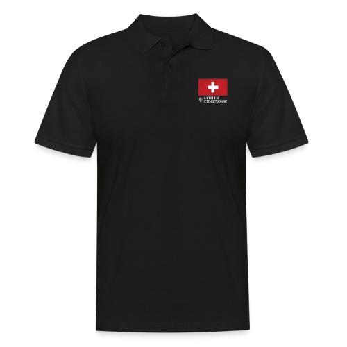 Echter Eidgenosse Schweiz - Männer Poloshirt