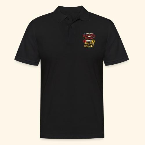 Sprüche T Shirt Weihnachten Neujahr Urlaub - Männer Poloshirt