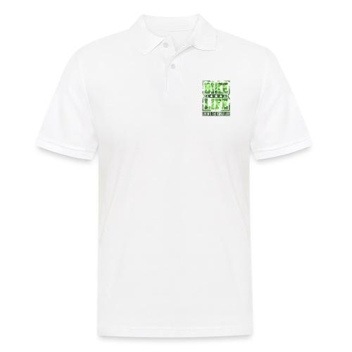 Bikelife Green Camo - Men's Polo Shirt