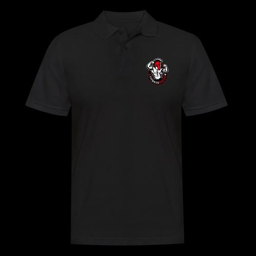 FitnessBauer in Rot - Männer Poloshirt