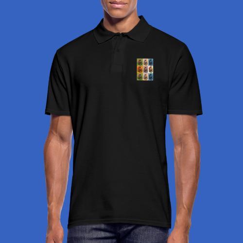 1. Mai DDR Pop Art - Männer Poloshirt
