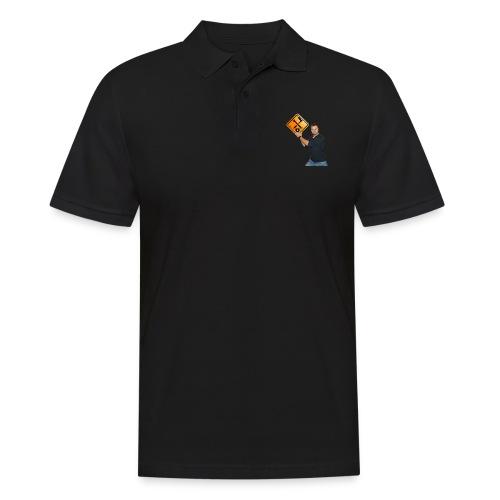 M1Molter + Logo - Männer Poloshirt