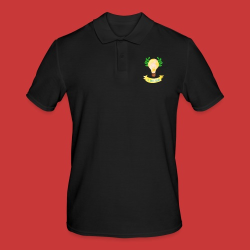5 IDEEN CLUB Glühbirne 2018 - Männer Poloshirt