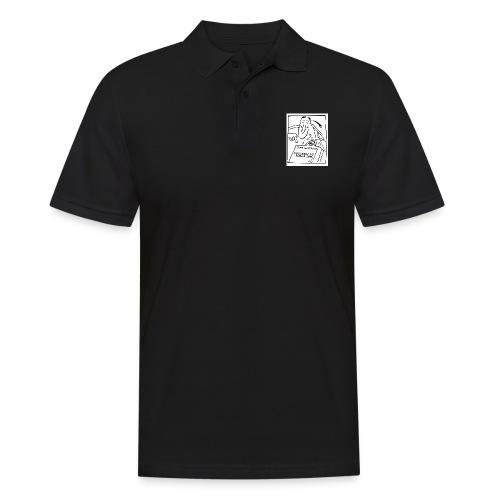 firma kurierska przod - Koszulka polo męska