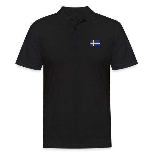 Schwedenflagge, Sweden Sverige schwedisch swedish - Männer Poloshirt