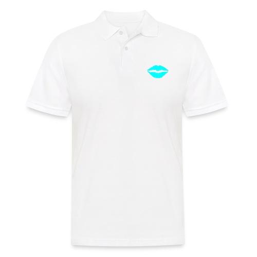Blue kiss - Men's Polo Shirt