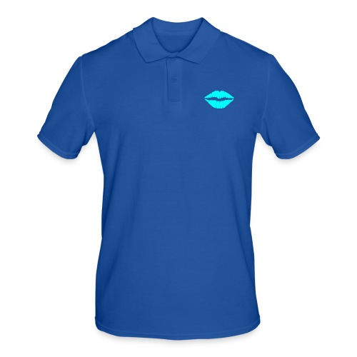 Blue kiss - Men's Polo Shirt
