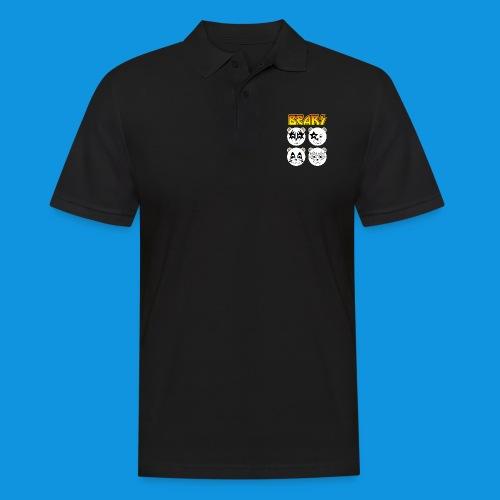 Kiss Bears square.png - Men's Polo Shirt