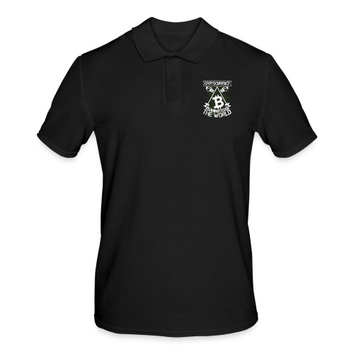 cryptocurrency - Mannen poloshirt