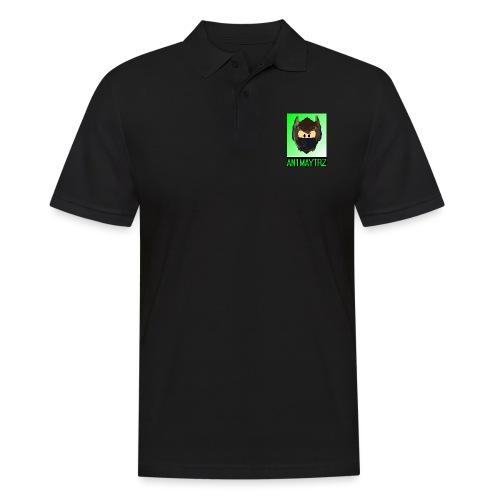 AN1MAYTRZ logo + title - Men's Polo Shirt