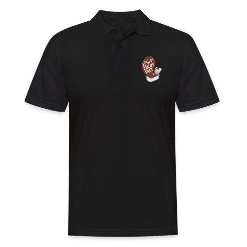 FUNNY CARTOON SAUCE - FEMALE - Men's Polo Shirt