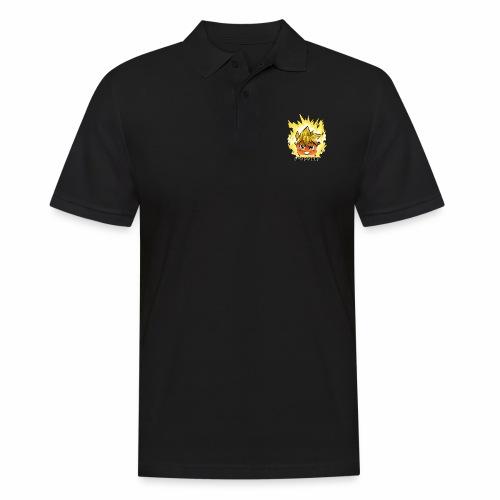 #sakaFIT Gelb - Männer Poloshirt