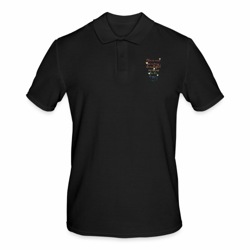 There are so many beautiful reasons to be happy - Men's Polo Shirt