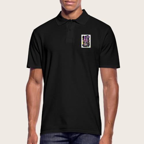 Jump - Slide - Ride - Männer Poloshirt