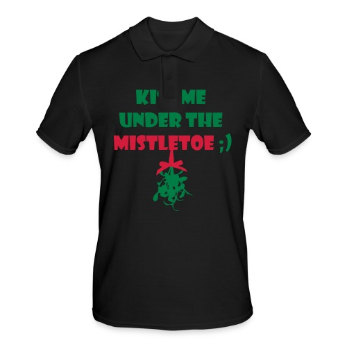 mistletoe - Männer Poloshirt